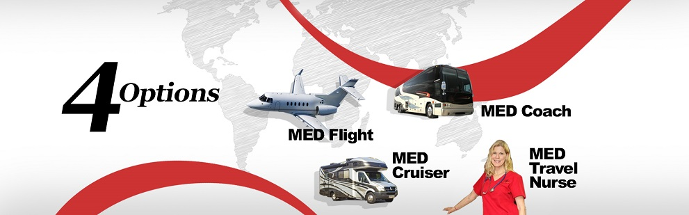 types of med transport